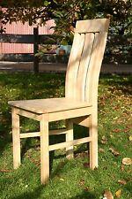 Stuhl AHORN Massivholz Esszimmerstuhl Küchenstuhl, ergonomischer Hochlehner