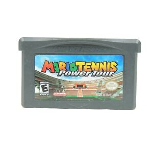 Mario Tennis: Power Tour (Nintendo Game Boy Advance, 2005) Game only