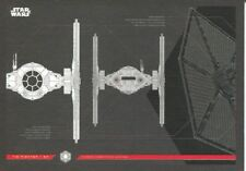 Star Wars Journey To The Last Jedi Blueprints Chase Card #2 TIE Fighter