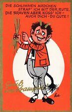 Nr 12381  Pk Gruß vom Krampus   um 1960