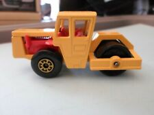 Matchbox Superfast No72 Bomag Road Roller   Made in England 1978