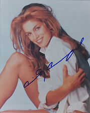 Cindy Crawford HAND SIGNED 10x8 Photo, Autograph, Model & Actress, Fair Game, 54