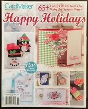 Card Maker Happy Holidays Plus Tasty Recipes November 2014 FREE SHIPPING!