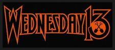 OFFICIAL LICENSED - WEDNESDAY 13 - LOGO SEW ON PATCH HEAVY METAL