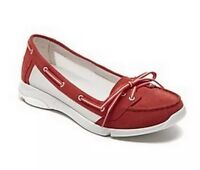 Rockport Walkability Women's Low Boat Shoes with Adidas's ADIPRENE V77607, Red