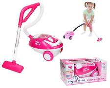 Electronic Vacuum Cleaner with Lights and Sounds Kids Girls Play at Home Toys