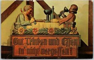 Ann Arbor, Michigan Postcard METZGER'S GERMAN RESTAURANT Chrome 1965 Cancel