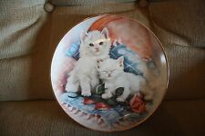 Franklin Mint Perfectly Precious Kittens Decorative Collector Plate