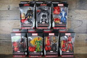 Marvel Legends Infinite Series Lot of 7 BAF HULKBUSTER *A Few Severe Shelf Wear*