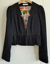 Bnwot Alannah hill size 14 Jacket, Made in Australia You bloody little Liar!