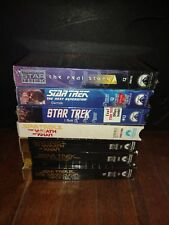 Star Trek VHS LOT 7 Tapes -inc very rare Inside Star Trek VHS (sealed)