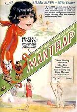 Mantrap - 1926 - Fleming  Clara Bow - Vintage b/w Pre Code Silent Film DVD
