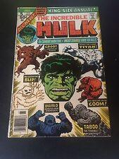 The Incredible Hulk Annual 5 2nd app of Groot Guardian Galaxy CGC CBCS It!