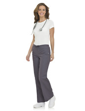 Landau Womens Scrubs Natural Flare Leg Pant 8335 All color/size REGULAR PETITE