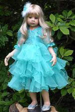 NWT RARE Masterpiece Dolls Jasmine Blonde With BROWN Eyes Monika Levenig