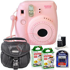 FUJIFILM Instax Mini 8 PINK Fujifilm Instant Camera + 40 Film Essential Kit