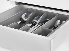 "IKEA Flatware Tray Kitchen Organizer Utensil Storage Holder 12""x10"" GRAY SMACKER"