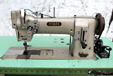 "PFAFF 142 Double 2-Needle Feed 3/8"" Gauge Reverse Industrial Sewing Machine"
