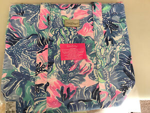 NWT Lilly Pulitzer Removable Cooler Tote Shade Seekers Free Shipping