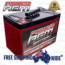 12V 110AH AMP HOUR AGM BATTERY SLA 12 VOLT DEEP CYCLE DUAL FRIDGE 105AH 100AH