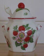 Lenox Porcelain Jam Jar with Spoon - Raspberry