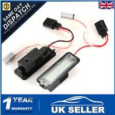 2pcs LED Number License Plate Light Lamp For VW GOLF MK4 MK5 MK6 MK7 Seat Polo
