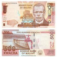 Malawi 500 Kwacha 2014 Banknotes P-66 UNC