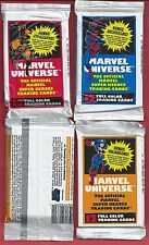 1990 MARVEL UNIVERSE SERIES 1 (ONE UNOPENED PACK 12 CARDS) HULK-SPIDERMAN