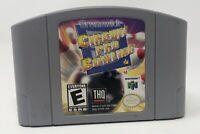 Brunswick Circuit Pro Bowling Nintendo 64 N64 Authentic OEM Tested Working HTF