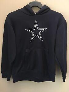 Dallas Cowboys NFL Authentic Blue Hoodie Sweatshirt Youth XL (20)