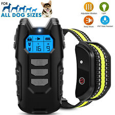 Rechargeable Remote Pet Dog Training Shock Collar Waterproof Hunting Trainer US