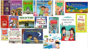 RAMADAN FASTING  EID CELEBRATIONS ISLAMIC MUSLIM CHILDREN KIDS GIFT BOOK