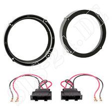 Lautsprecherringe+ LSP Adapter VW Touran Tiguan 165mm Lautsprecher Türen hinten
