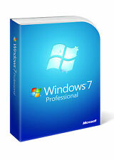 Genuine Microsoft Windows 7 Professional 64bit DVD Retail Boxed