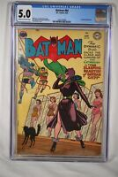 Batman #84 CGC 5.0 Robin Hard to find Book DC Comic Book 1954 Catwoman