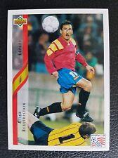 Upper Deck Aitor Beguiristain Fußball WM 94 Nr.156Trading Card