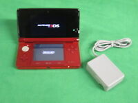Nintendo 3DS Flame Red Very Good 8812