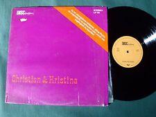 CHRISTIAN & KRISTINA - Radioplay - LP 33 German DISCintim