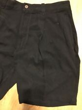 Men's Black Tommy Bahama Black Shorts Size 34 Black Silk Shorts Relax Marlin 34