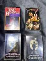 Job Lot of 4 x Jimi Hendrix Cassette Tapes