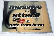 "MASSIVE ATTACK ""Safe From Harm"" OUT OF PRINT MAXI CD w/ REMIXES UK EX --> $2.82"