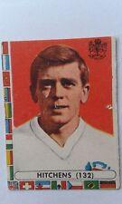 1962 Gerry Hitchens Aston Villa et l'Angleterre Lampo football italien carte
