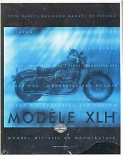 """Harley Davidson New 1999-Sportster Service Manual Please Note In """"French"""""""