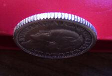Strong AU+ 1941 Netherlands Silver 25 Cents .640 Fine, Queen Wilhelmina w Holder