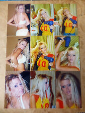 SET OF 10 4X6 PHOTOS OF PORNSTAR QUEEN JENNA JAMESON J3,HUSTLER MODEL,SEXY