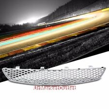 Chrome Type-R Mesh Style Replacement Grille For 02-05 Civic Si/SiR EP3 2.0L DOHC