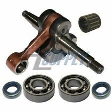 Crankshaft with bearings fits HUSQVARNA 181 281 288 394 aftermarket
