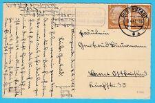 Landpoststempel    Mingerode über Duderstadt (Eichsfeld)  1941