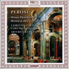 PEROSI: MISSA PONTIFICALIS; MESSA A DUE VOCI DISPARI NEW CD