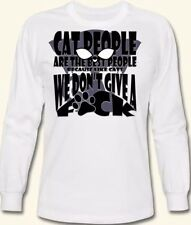 Custom printed t-shirts for your cat lover! Many Sizes & Styles Available